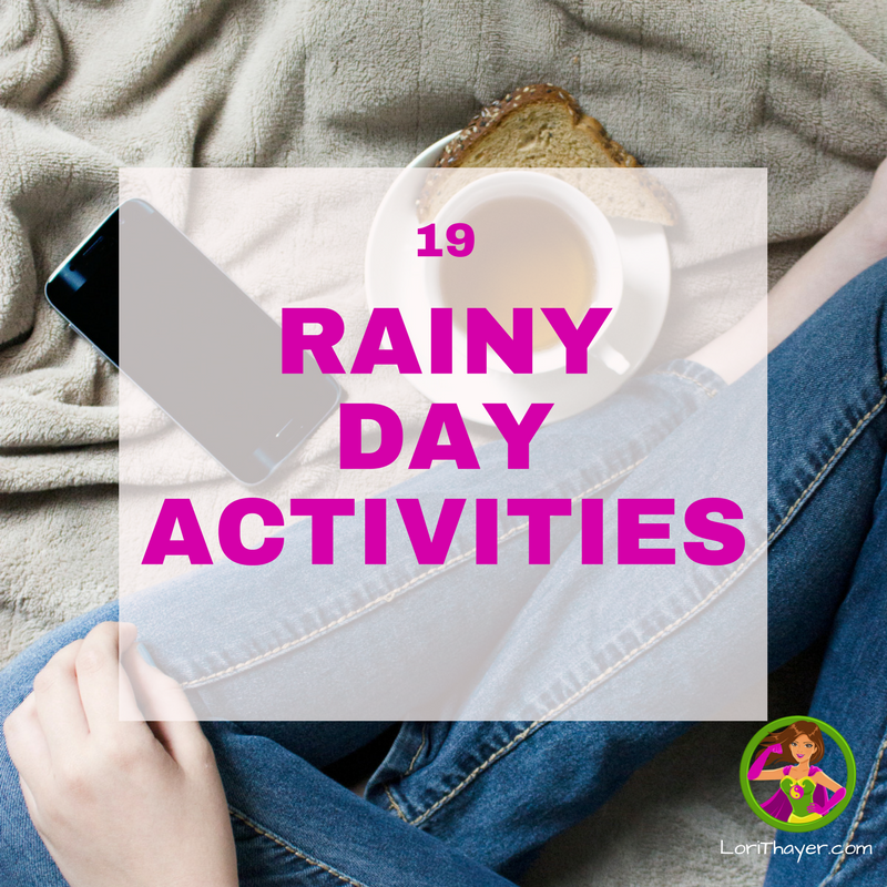 Rainy Day Activities To Enjoy