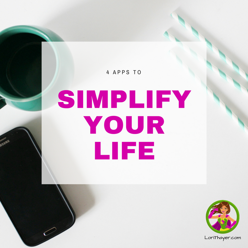 4 Apps To Simplify Your Life