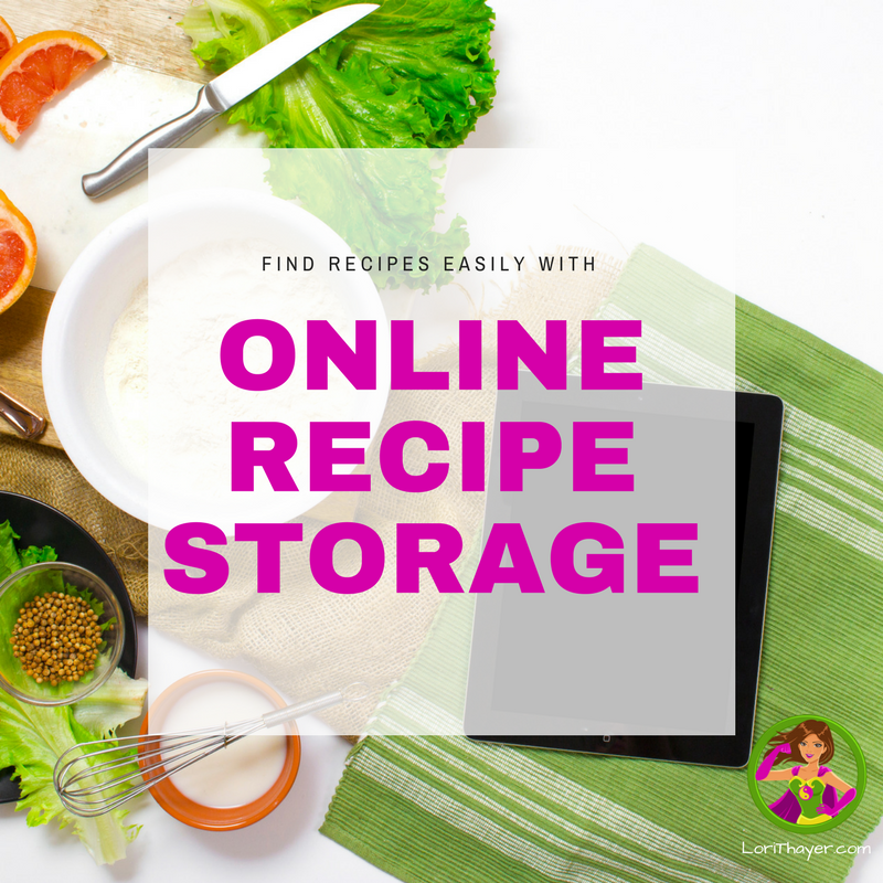 Find Recipes Easily With Online Recipe Storage