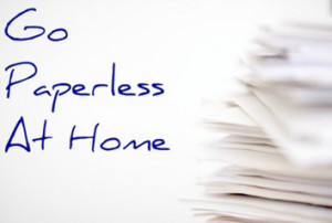 GoPaperLessAtHome 300x202 Why Go Paperless And What To Keep