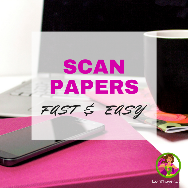 Scan Papers Fast & Easy