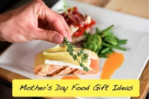 FoodGiftIdeas text 300x199 Mothers Day Food Gift Ideas
