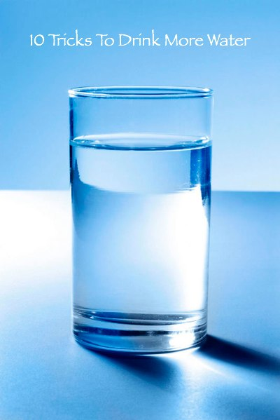 WaterGlass 400x 10 Tricks To Drink More Water