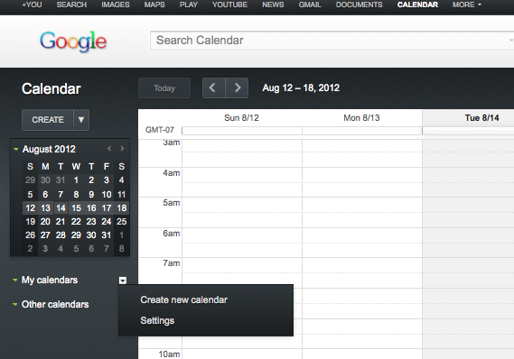 AddANewCalendar1 How To Set Up A Shared Online Family Calendar On Google
