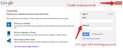 Google Calendar Log In How To Set Up A Shared Online Family Calendar On Google