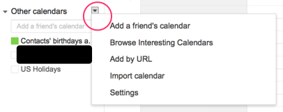 Add Other Calendars How To Subscribe To Google Calendars To Save Time