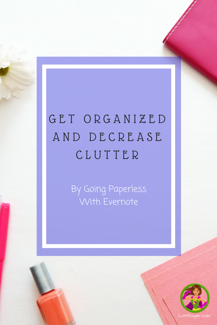 Get Organized And Decrease Clutter FB