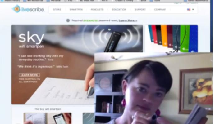 Productivity Tool Review – Livescribe Sky Pen