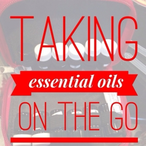 Taking Essential Oils On The Go