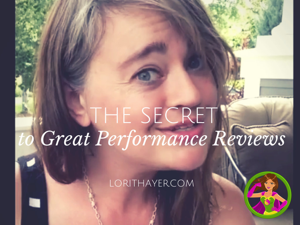 The Secret To Great Performance Reviews