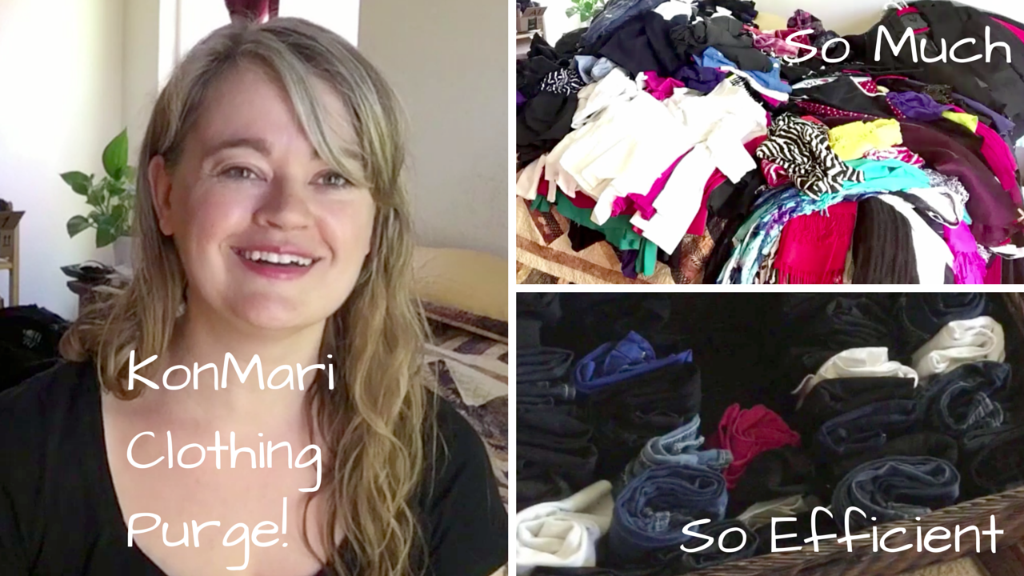 KonMari Method Clothing Purge