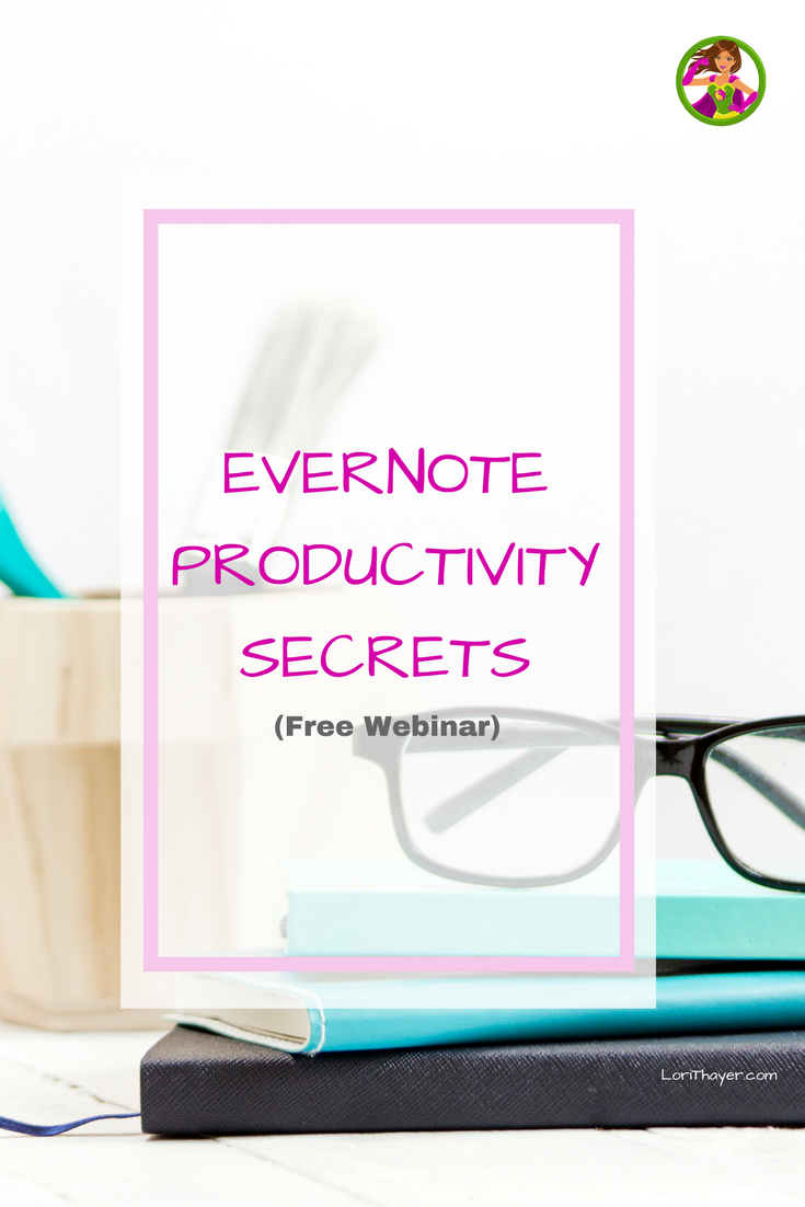 Evernote Productivity Secrets